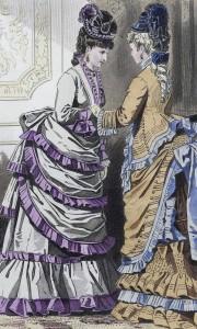 Les Modes Parisiennes, 1873