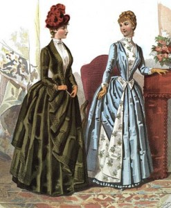 Unknown Fashion Plate, 1886