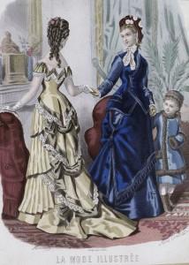 La Mode Illustrée, 1876