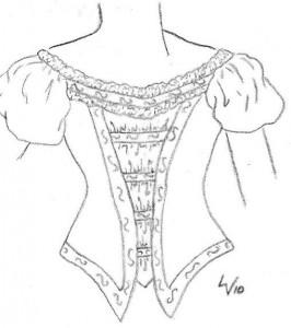 My Ballgown Bodice