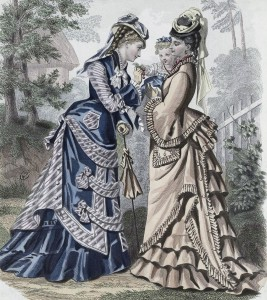 Unknown Fashion Plate, 1875