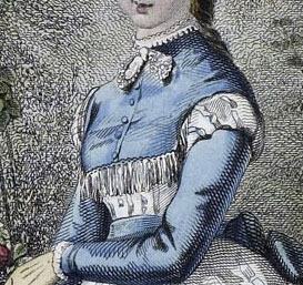 Unknown Fashion Plate, 1869