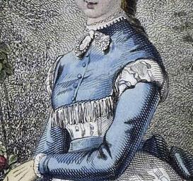 Unknown Fashion Plate, 1869