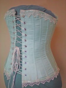 Corset, Back View