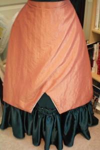 Overskirt Front