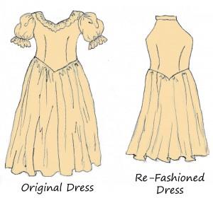 Bridesmaid's Refashion