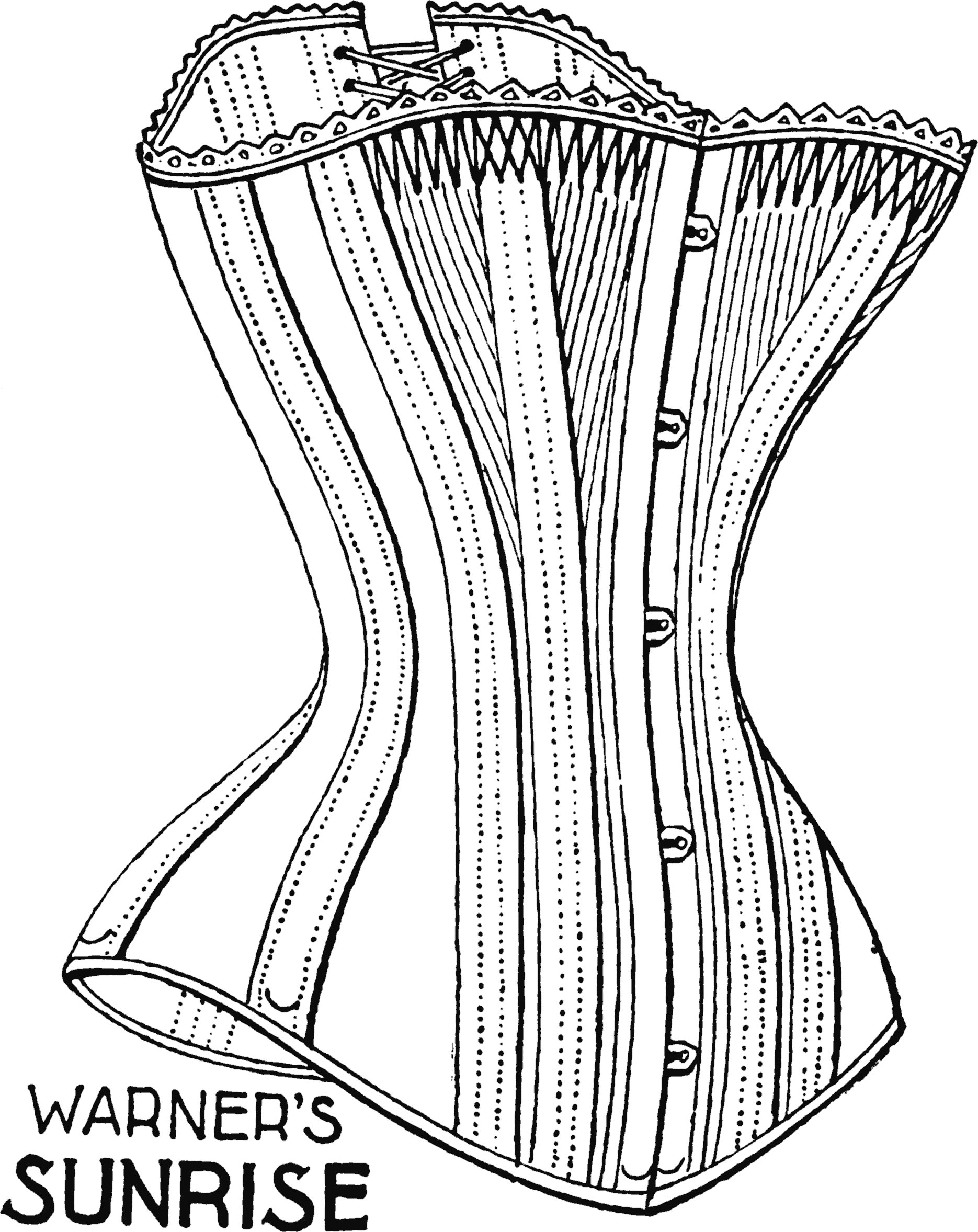 new concept latest selection of 2019 elegant and sturdy package Exploring the Myths of Corsets I | Yesterday's Thimble