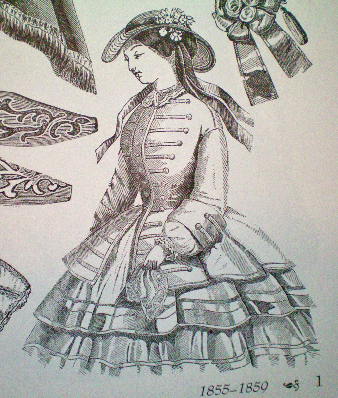 Victorian fashions a pictorial archive 57