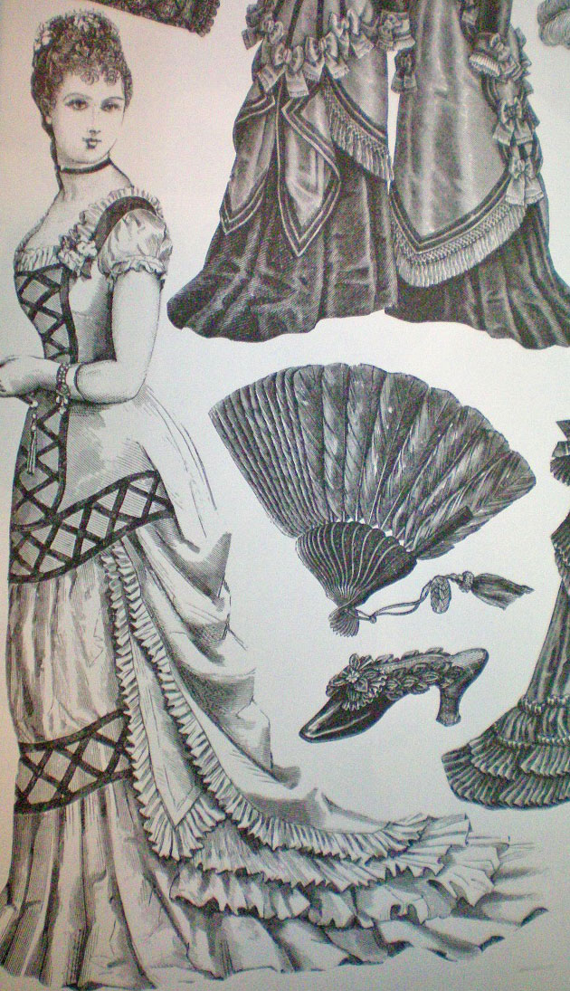 Victorian fashions a pictorial archive 7