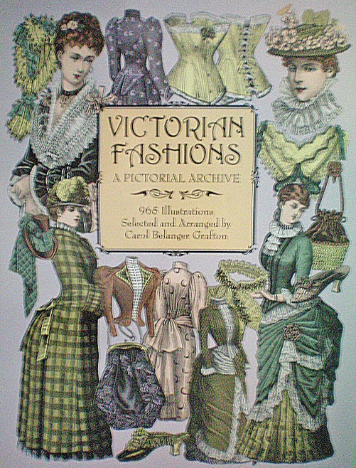 Victorian fashions a pictorial archive 13