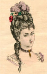 Fashion Plate, 1875