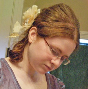 Hairdo Using a Bumpit