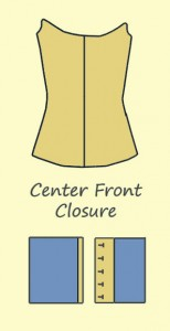 Center Front Closure