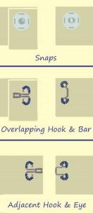 Snaps vs. Hooks