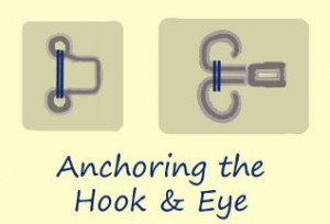 Anchoring the Hook or Eye