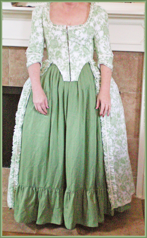 18th Century Robe á l\'Anglaise | Yesterday\'s Thimble