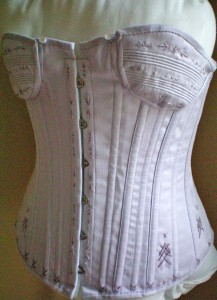 Finished Corset