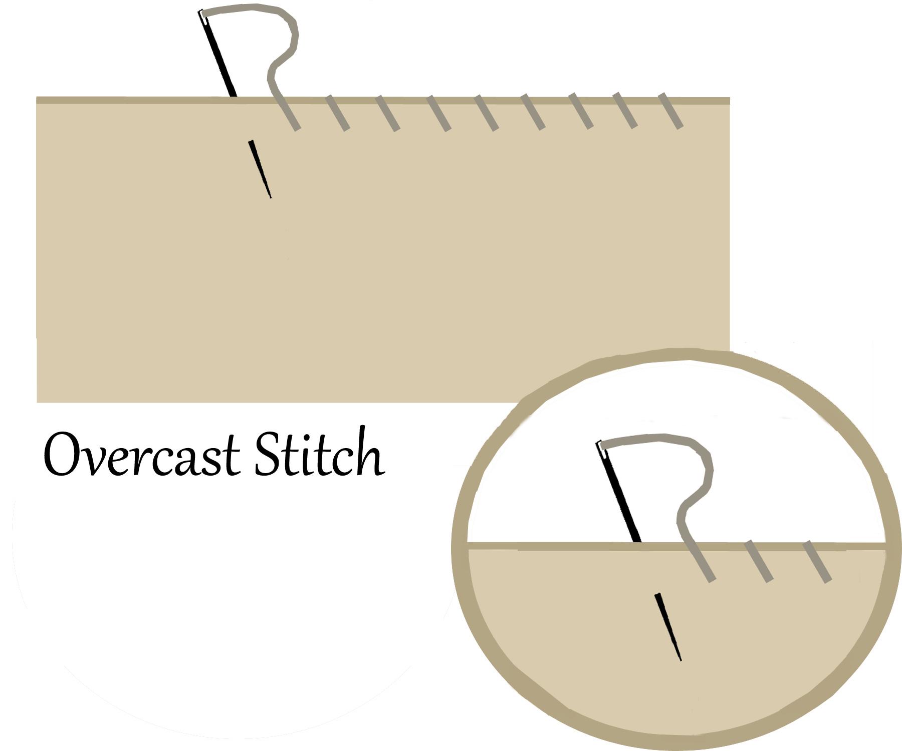 Overcast Stitch Symbol