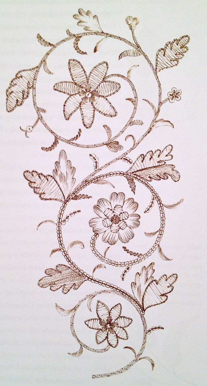 Eighteenth Century Embroidery Techniques | Yesterdayu0026#39;s Thimble