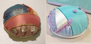 Finished Pincushions