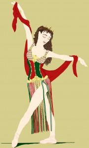 Hannibal Ballet Costume