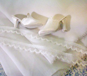 Fabric and Doll Shoes