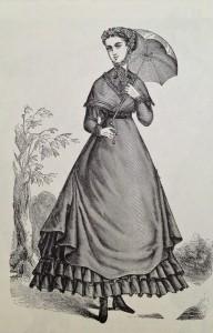 Street Dress, 1868