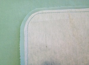 Trimmed Interfacing