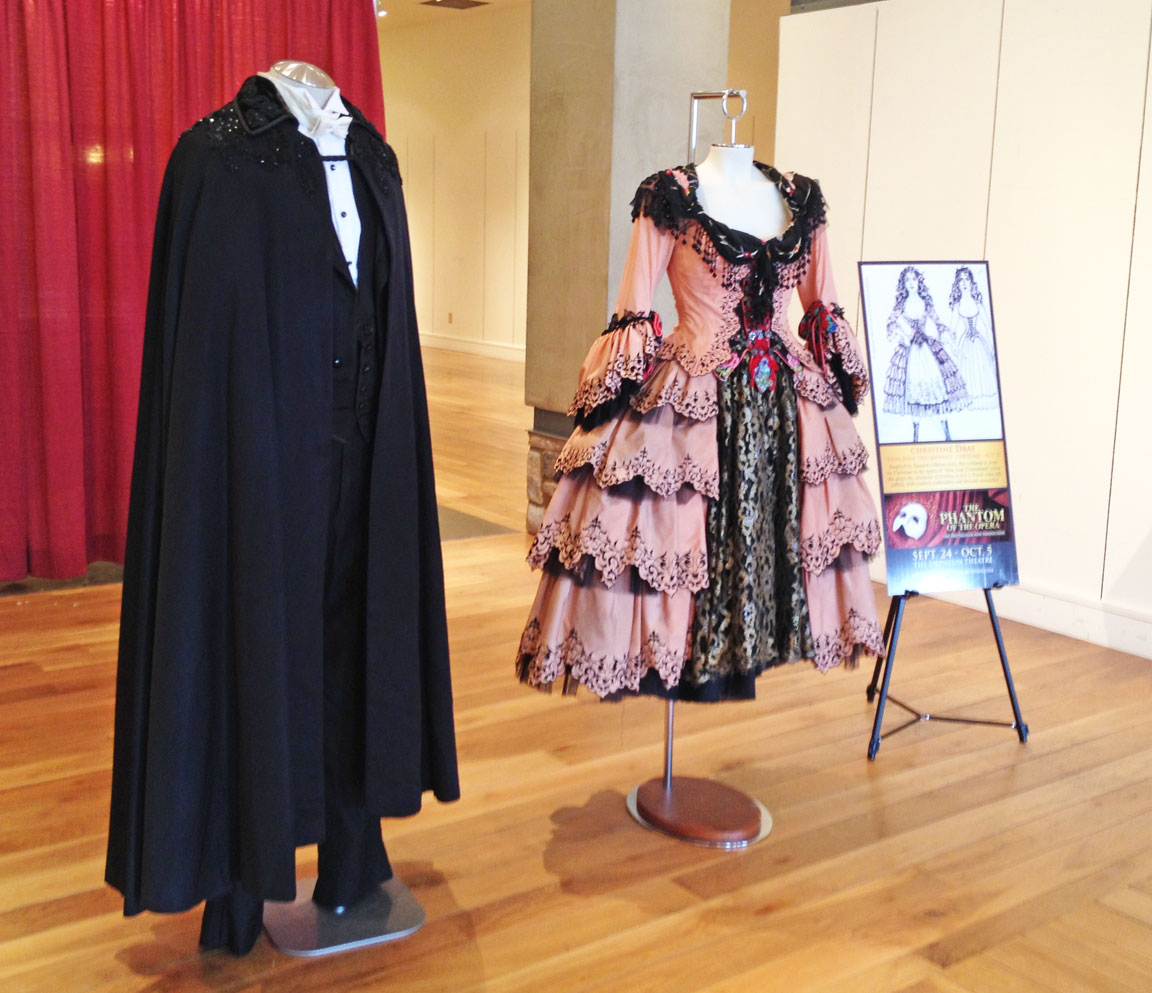 1038e1e42ba5b The Phantom of the Opera Costume Exhibit, Part I | Yesterday's Thimble
