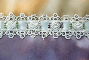 Lace With Beading