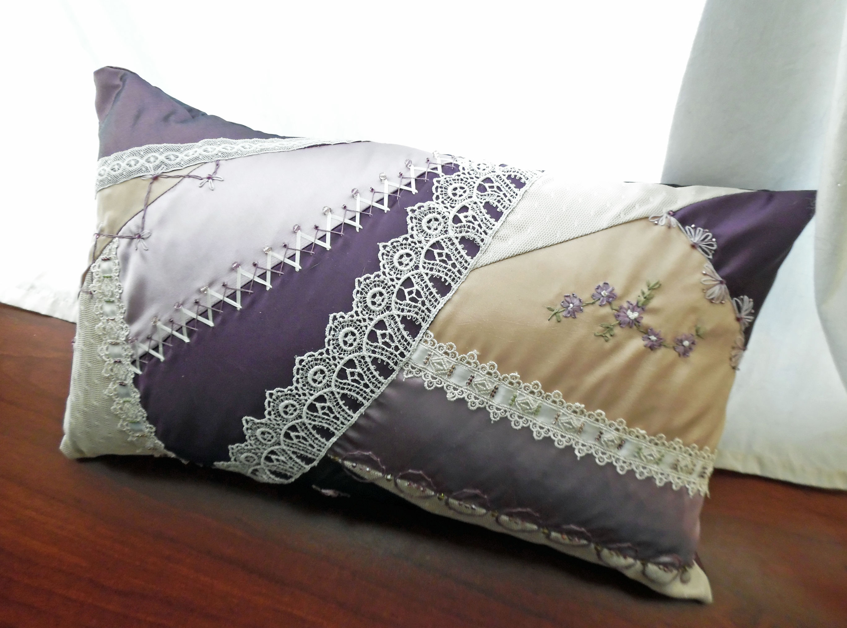 cover pin pillows mauve throw light x accent pillow crinkled purple