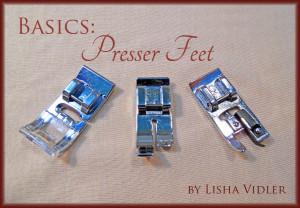 Basics: Presser Feet