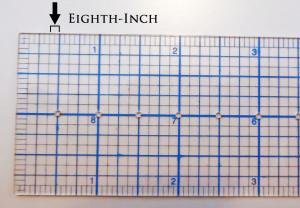 Eighth-Inch Marks