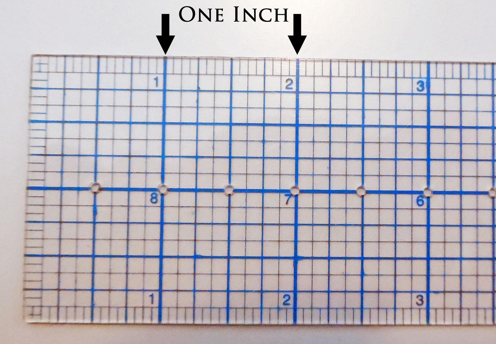 Basics measurements yesterdays thimble inch marks biocorpaavc