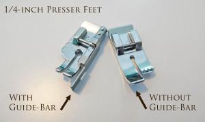 1/4-Inch Presser Feet