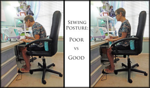 Sewing Posture