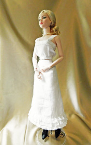 Corset Cover & Petticoat