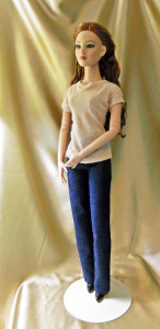 Doll Jeans & T-Shirt