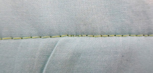 Faulty Stitching