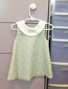 Green Infant Dress