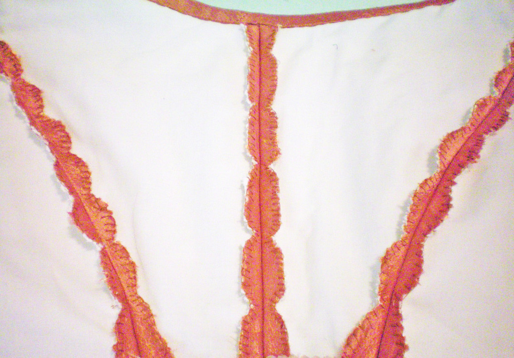 Lined & Interlined Bodice