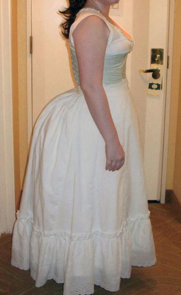 1870s Petticoat