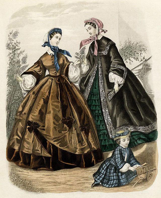 Fashion Plate, 1861