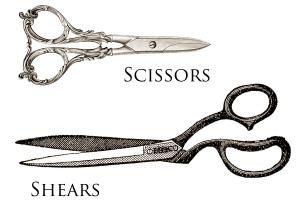 Scissors vs Shears